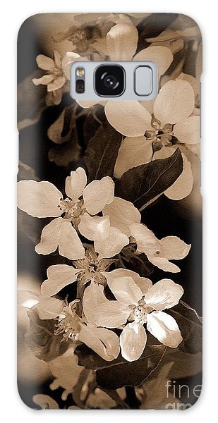 Galaxy Case - Apple Blossom by J McCombie
