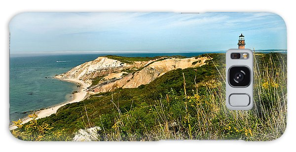 Aquinnah Gay Head Lighthouse Marthas Vineyard Massachusetts Galaxy Case by Michelle Wiarda