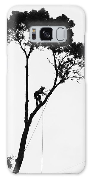 Arborist At Work Galaxy Case