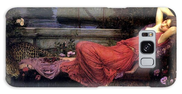 Minotaur Galaxy Case - Ariadne by John William Waterhouse