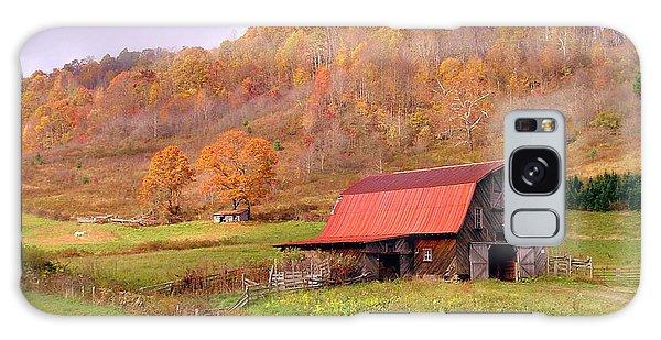 Ashe County Barn Galaxy Case