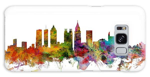 Usa Galaxy Case - Atlanta Georgia Skyline by Michael Tompsett