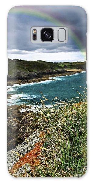 Rainbow Galaxy Case - Atlantic Coast In Brittany by Elena Elisseeva