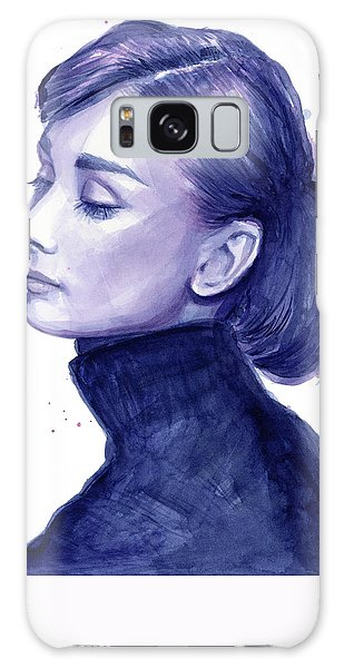 Audrey Hepburn Portrait Galaxy Case