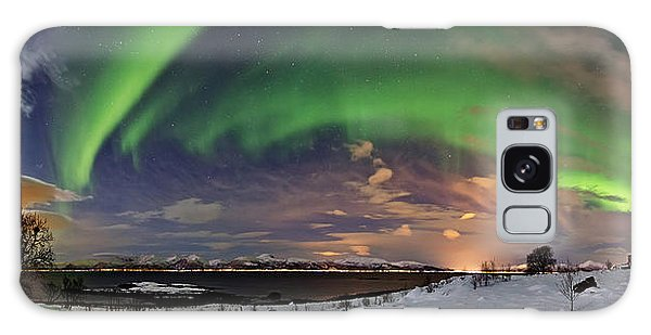 Aurora Panorama Galaxy Case
