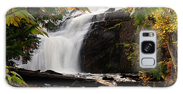 Autumn At Cattyman Falls Galaxy Case
