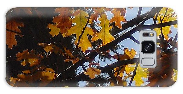 Autumn Leaves Galaxy Case