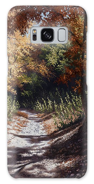 Autumn Trails Galaxy Case