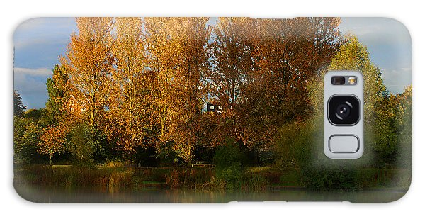 Autumn Trees Galaxy Case