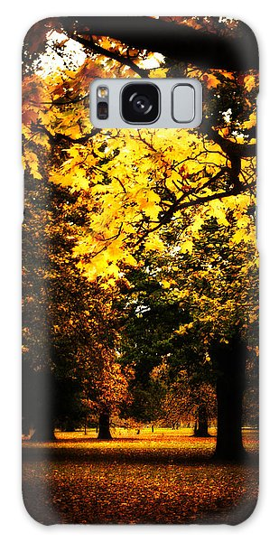 Autumnal Walks Galaxy Case