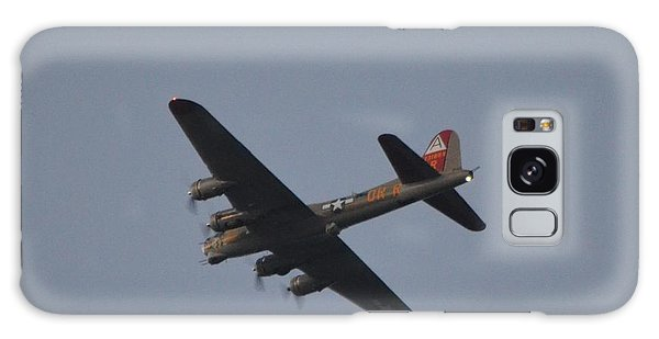 B-17 Flying Fortress Wwii Bomber Over Santa Rosa Sound At Twilight Galaxy Case by Jeff at JSJ Photography