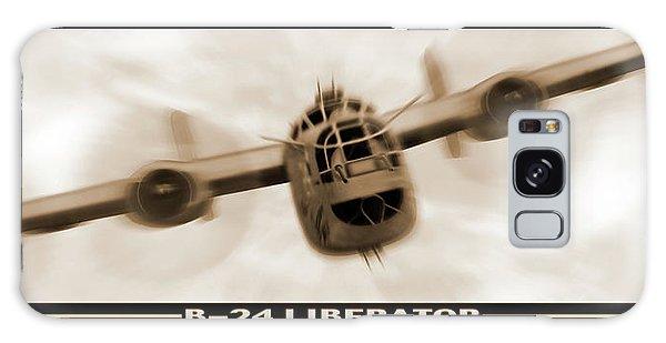 Ww2 Galaxy Case - B 24 Liberator by Mike McGlothlen