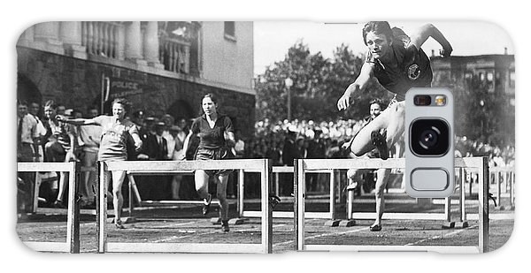 Amateur Galaxy Case - Babe Didrikson High Hurdles by Underwood Archives