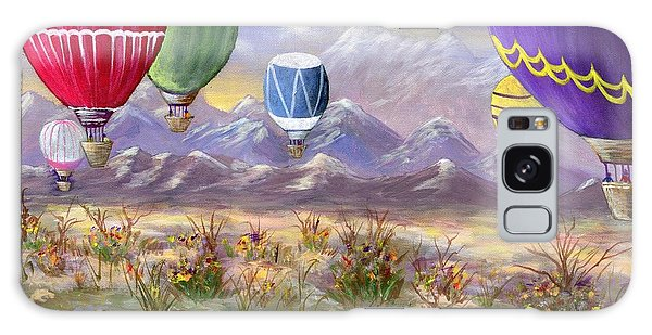 Balloons Galaxy Case by Jamie Frier
