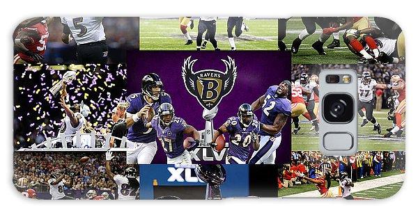 Baltimore Ravens Galaxy Case