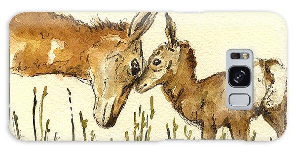 Deer Galaxy Case - Bambi Deer by Juan  Bosco