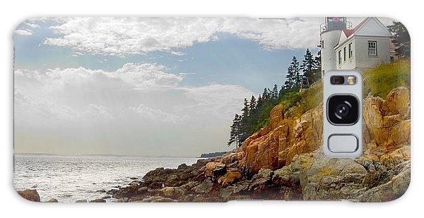 Bass Harbor Head Lighthouse Galaxy Case