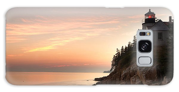 Bass Harbor Lighthouse Galaxy Case
