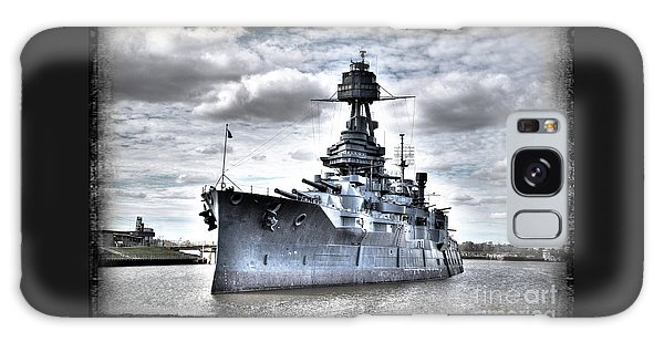 Battleship Texas Galaxy Case by Savannah Gibbs