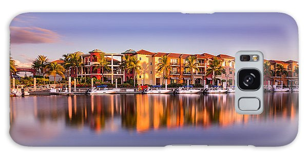 Bay Resort Naples Florida Galaxy Case