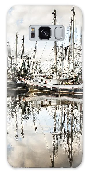 Bayou Labatre' Al Shrimp Boat Reflections Galaxy Case