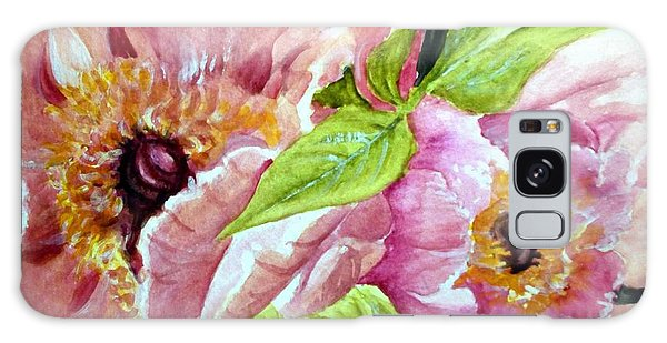Beauty In Pink Galaxy Case by Carol Grimes