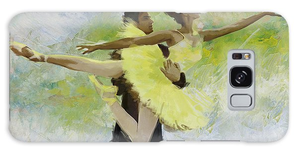 Ballerina Galaxy Case - Belly Dancers by Corporate Art Task Force