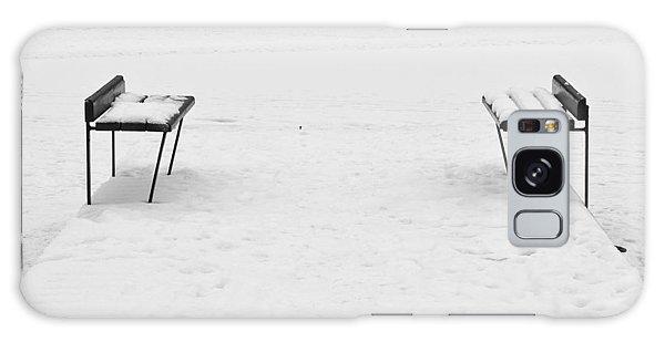 Benches On A Dock Galaxy Case by Jouko Lehto