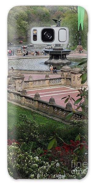 Bethesda Fountain - Central Park Nyc Galaxy Case
