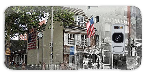 Betsy Ross House Galaxy Case