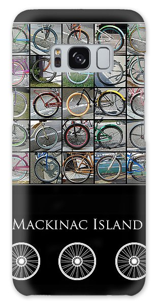Bicycles Of Mackinac Island Galaxy Case