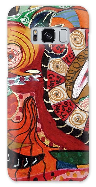 Birds Dragons Whales Galaxy Case by Clarity Artists