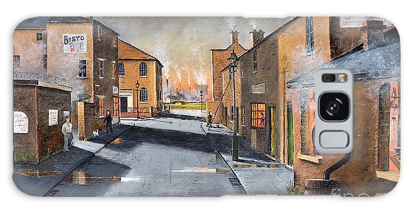 Black Country Village From The Boat Yard Galaxy Case