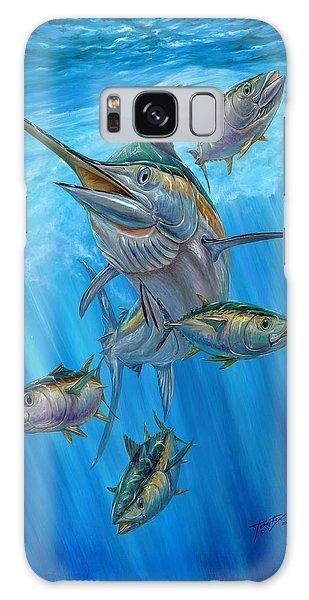 Black Marlin And Albacore Galaxy Case