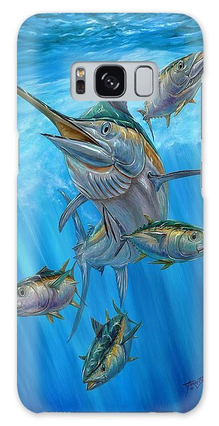Black Marlin And Albacore Galaxy Case