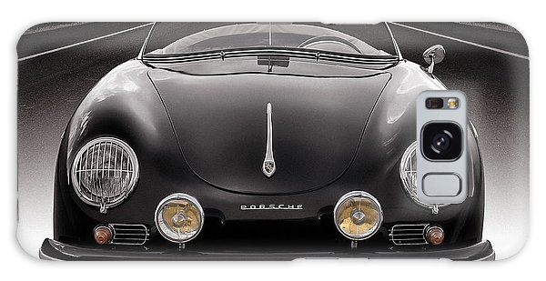 Vintage Cars Galaxy Case - Black Porsche Speedster by Douglas Pittman