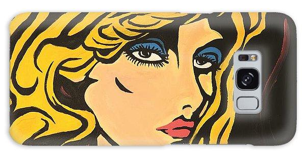 Blondie Galaxy Case by Sheridan Furrer