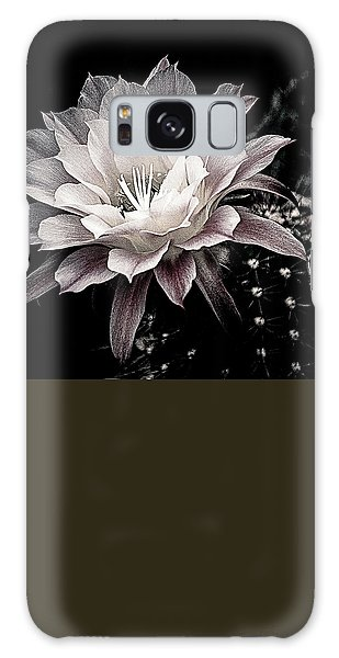 Blooming Cactus Galaxy Case by Julie Palencia