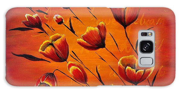 Blooming Flowers Galaxy Case