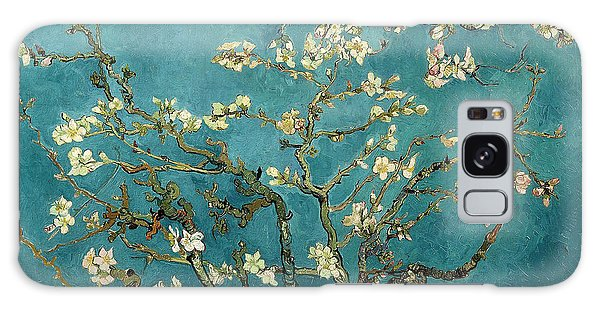 Blossoming Almond Tree Galaxy Case by Vincent Van Gogh