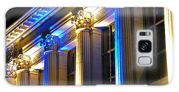 Blue And Gold Doe Library Galaxy Case