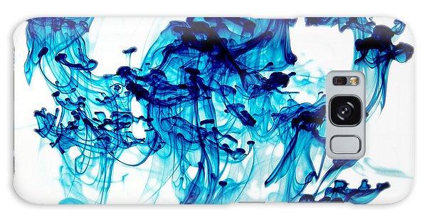 Blue Chaos Galaxy Case by Liz Masoner
