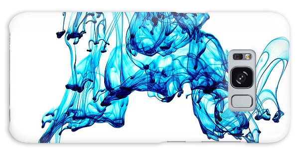 Blue Descent Galaxy Case by Liz Masoner