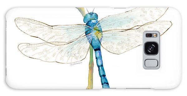 Insect Galaxy Case - Blue Dragonfly by Amy Kirkpatrick