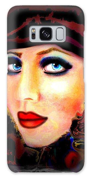Scarf Galaxy Case - Blue Eyes by Natalie Holland