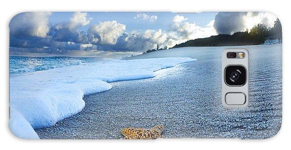 Blue Foam Starfish Galaxy Case