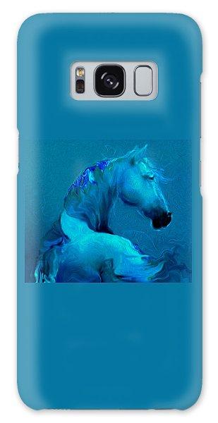 Blue Horse Galaxy Case