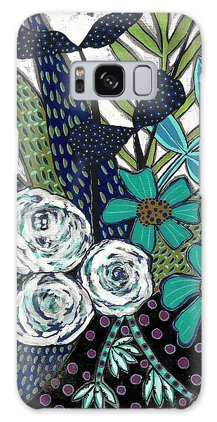Blue Galaxy Case by Lisa Noneman