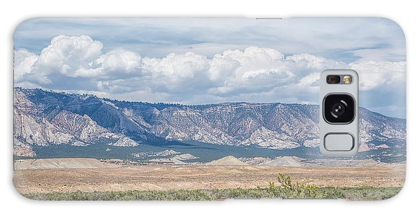 Galaxy Case featuring the photograph Blue Mountain Range by Jeanne May