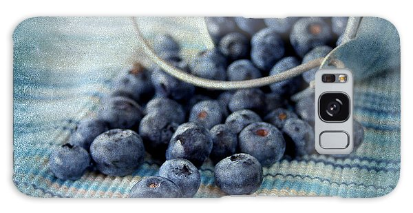 Blueberries Galaxy Case by Darren Fisher